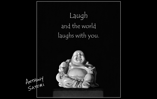 Laughing Buddha  |  Anthony Satori