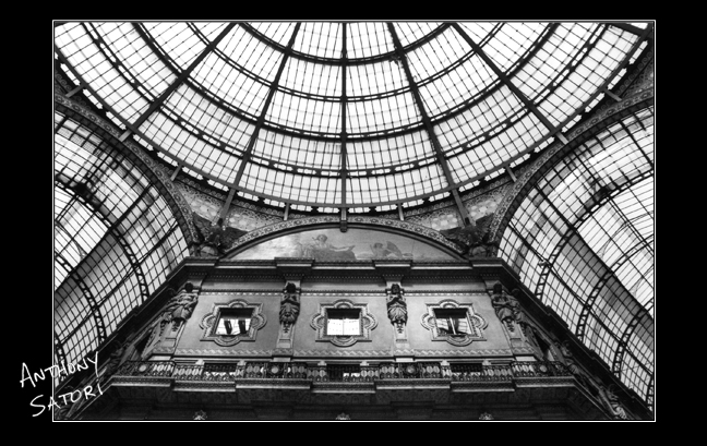 Interior, The Galleria (Milan, Italy)  |  Anthony Satori