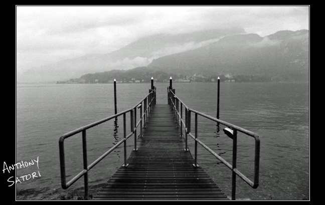 """Pier Over Lake Como""  
