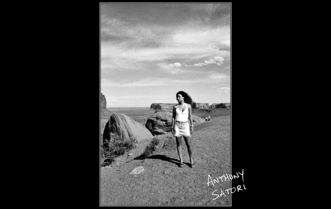"""Girl in the Desert""  |  Anthony Satori"